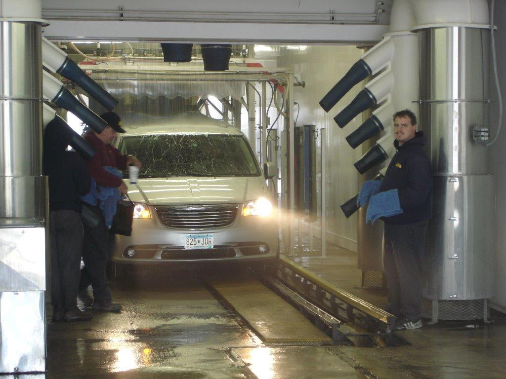 Self Service Wash Car